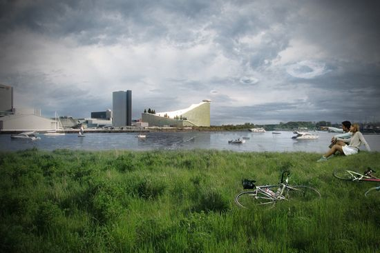 Danish architect Bjarke Ingels designs energy plant that doubles as a downhill ski resort 3