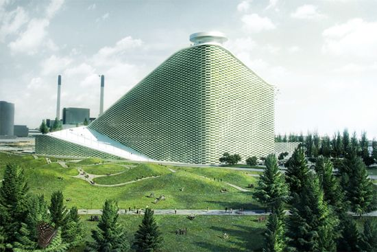 Danish architect Bjarke Ingels designs energy plant that doubles as a downhill ski resort 4