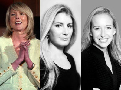 Gilt Groupe Chairman Susan Lyne and co-founders Alexis Maybank and Alexandra Wilkis Wilson