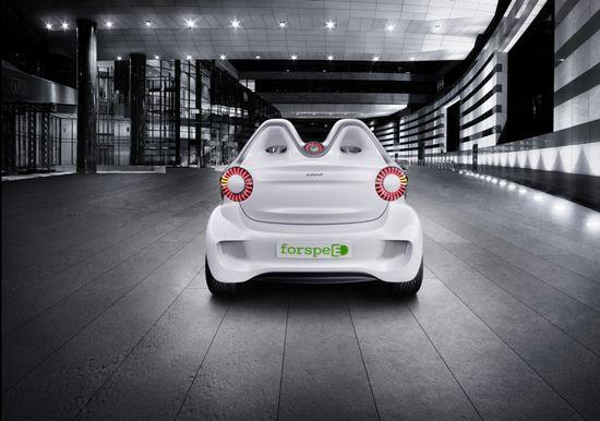 Smartcar Forspeed rear view
