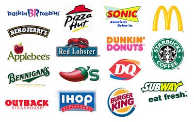 Famous consumer foodservice brands