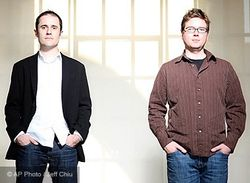 Evan Williams and Biz Stone, Twitter Co-Founders