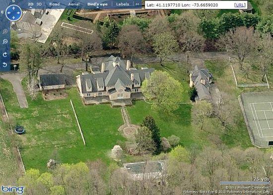 Raj Rajaratnam's estate located in Greenwich, Connecticut