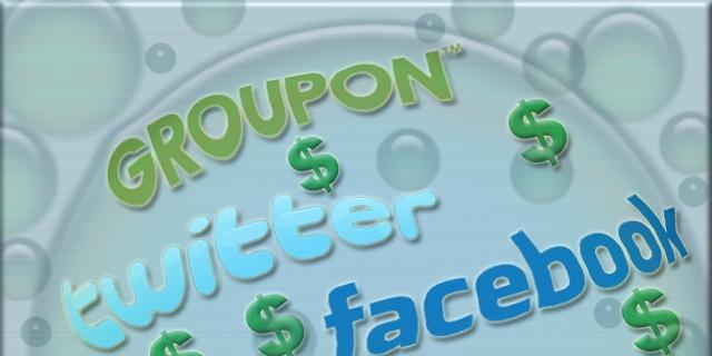 Social network internet Bubble 2011