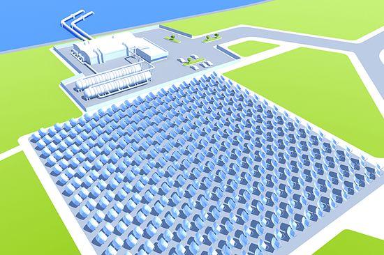 Zenith Solar CPV farm for an industrial application