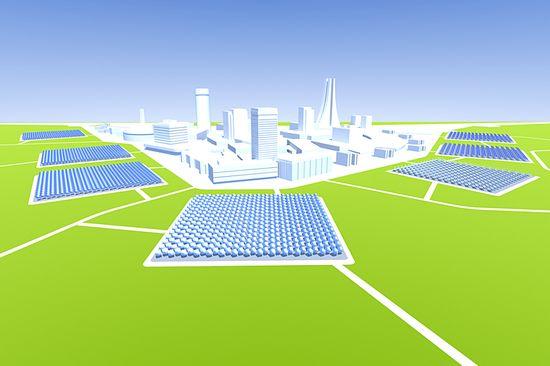 Zenith Solar CPV farm for a municipality