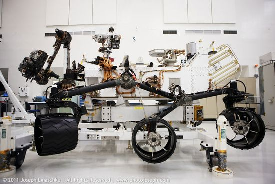 NASA Mars Curiosity Rover 3