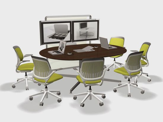 Steelcase LearnLab Mediascape classroom office furniture for small groups