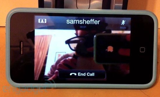 Skype Video Calling feature on the Apple iPhone