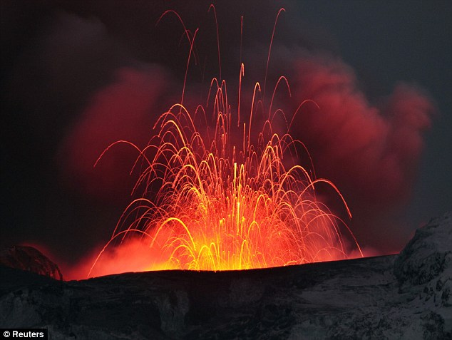 Yellowstone National Park's Caldera has erupted three times in the last 2.1 million years and this could happen again