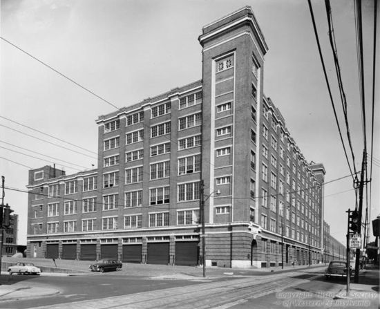 Google Not-Evil Office in Pittsburgh 8  - A historic picture of the old Nabisco factory
