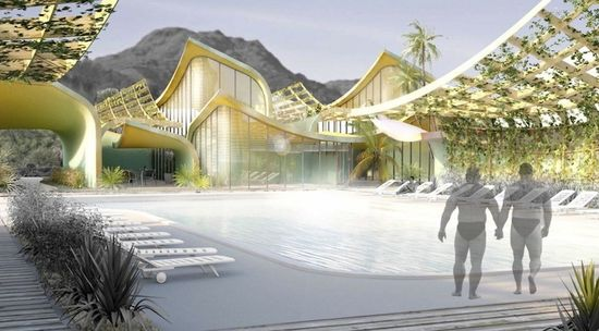 BOOM recreational activities includes a swimming pool, fitness center and sauna