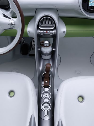 Smartcar Fourspeed interior console