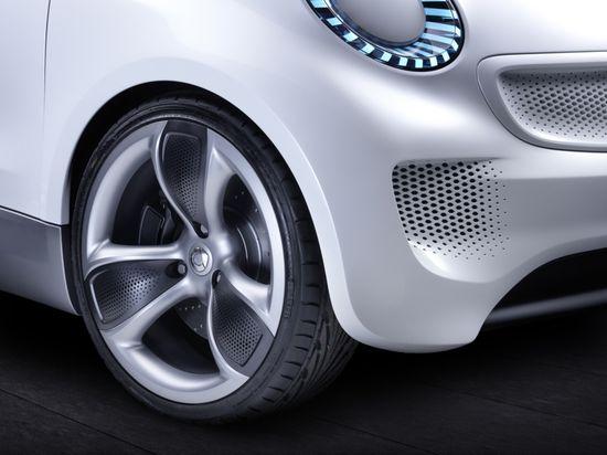 Smartcar Forspeed tires