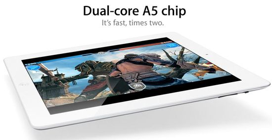 IPad 2, Dual-core A5 chip, It's fast, times two