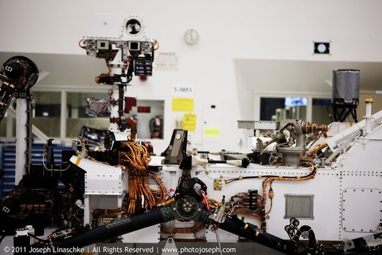 NASA Mars Curiosity Rover 8