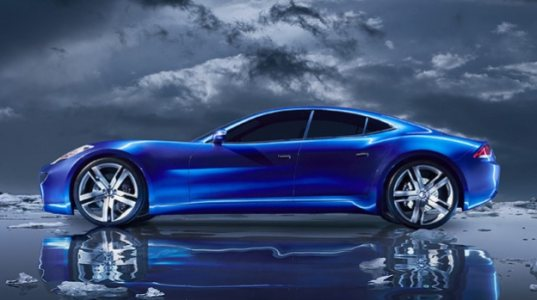 Fisker Automotive Karma sports car