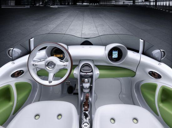 Smartcar Forspeed interior view