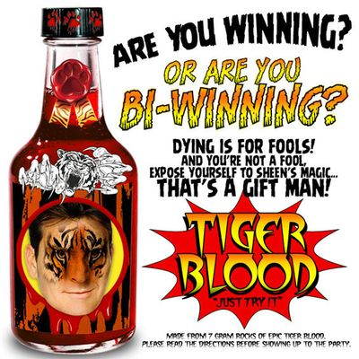 Tiger Blood - Are you winning