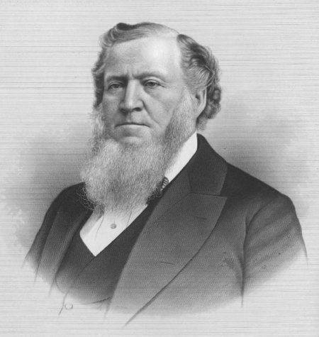 Brigham Young, President of LDS Church. BYU was named in his honor in 1875