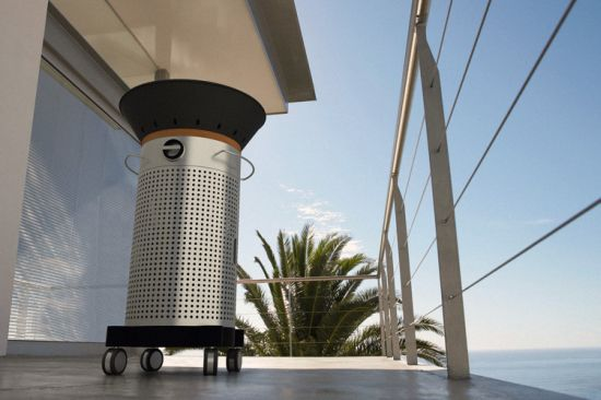 Fuego Element Grill looks stylish on your balcony