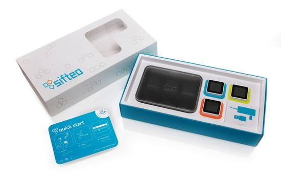 Sifteo Cubes Packaging