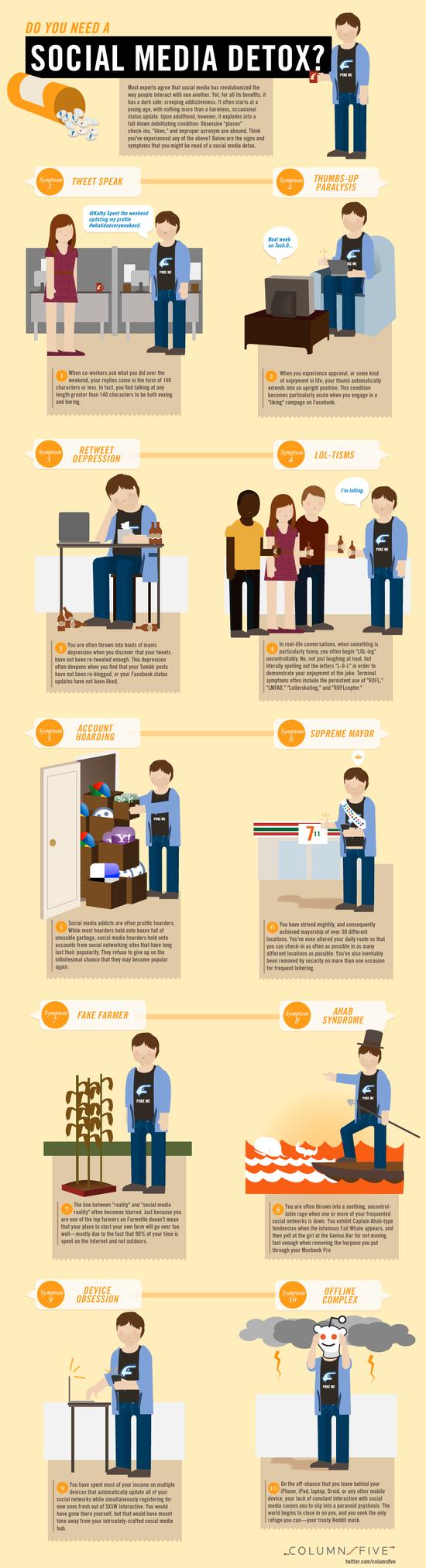 Infographic - Do You Need A Social Media Detox