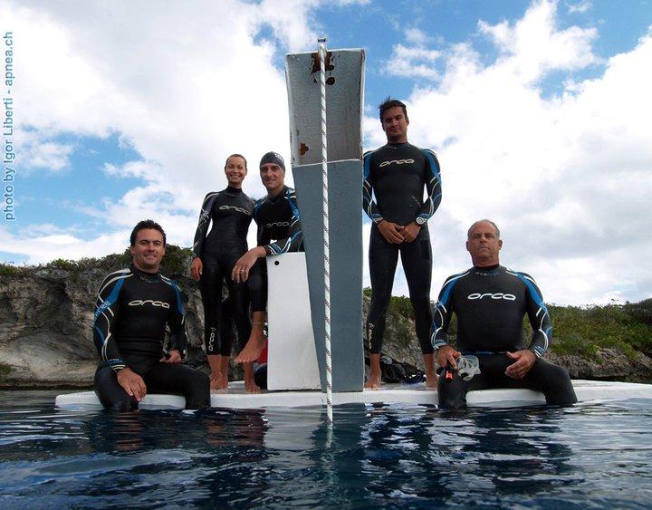Team Verticle Blue
