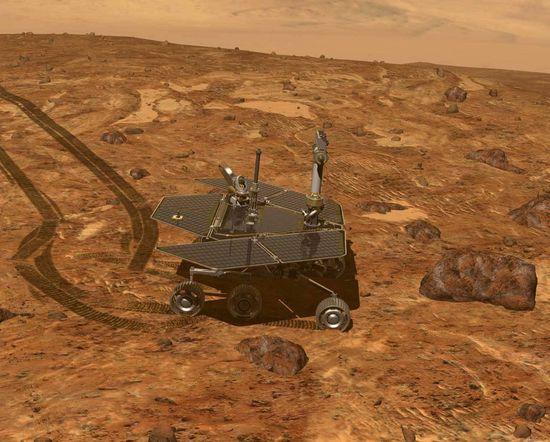 NASA Mars Exploration Rover or MER