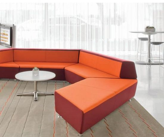 Steelcase media-scape lounge bench seats