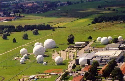 Typical ECHELON electronic communications survellance station
