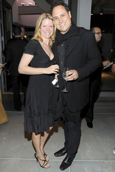 The man behind Oppenheim Architecture and Design, Chad Oppenheim and wife Iona