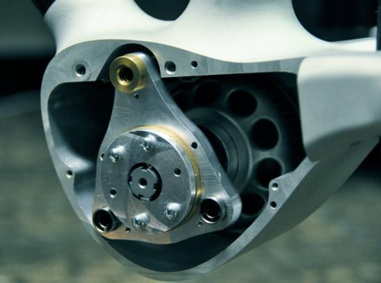 The Alpha Bike SWIFT drivetrain