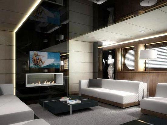 Motor Yacht Egeria interior 2