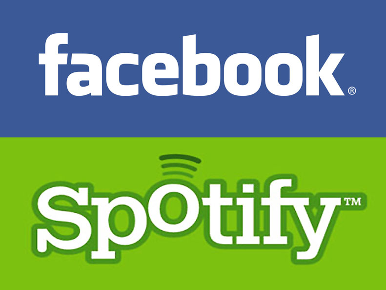 Facebook and Spotify