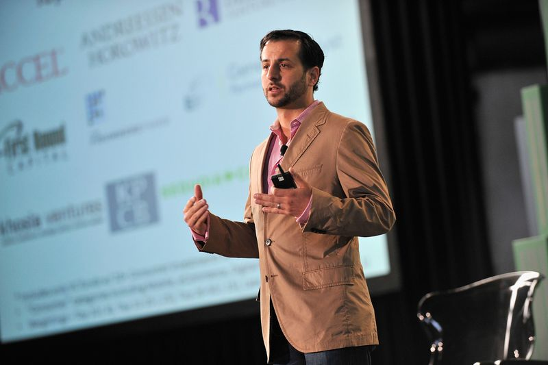 TechCrunch's Chris Farmer speaks about venture capital at Disrupt New York