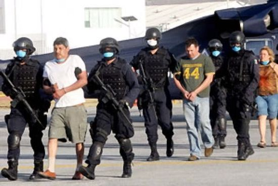 The founder of the Mexican drug cartel 'The Gulf,' Gregorio Sauceda alias 'El Goyo' and one of the US DEA's most wanted arrested in near the northern border of Mexico
