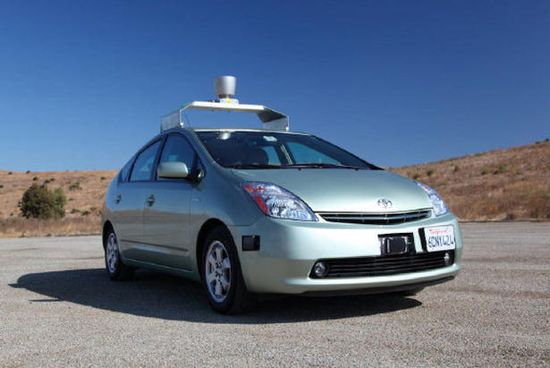 Google driverless is a mocified Toyota Prius