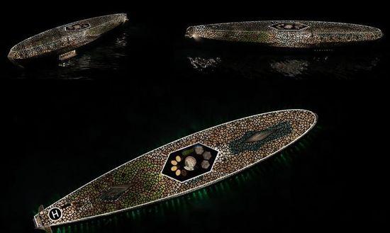 Hyun-Seok Kim's 'Voronoi' dragonfly wing inspired superyacht 5