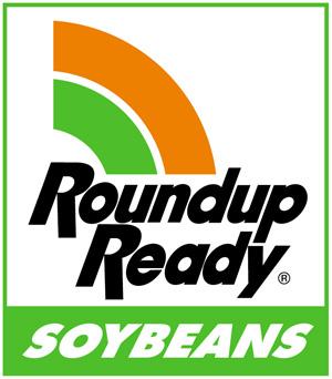 Monsanto's Roundup Ready Soybeans logo