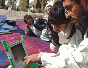 Afghani's are able to use their do-it-yourself FabFi internet network to communicate and findout what's going on in other parts of their country