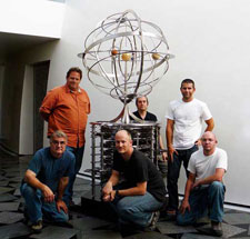 10000 year time clock assembled and ready to be installed onsite