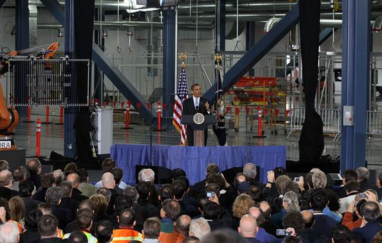 President+Obama+Speaks+Solar+Panel+Manufacturing+tSUdNjQ073Sl