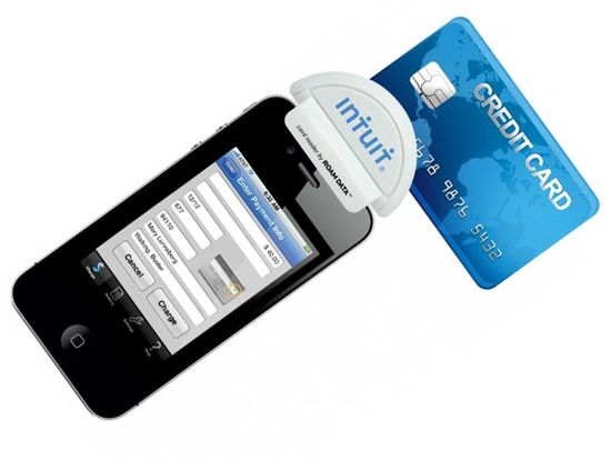 Intuiti GoPayment mobile credit card payment attachment
