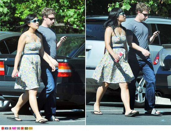 Mark Zuckerberg on weekend outing with girlfriend Priscilla Chan