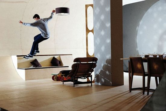 PAS Skateboard House 3