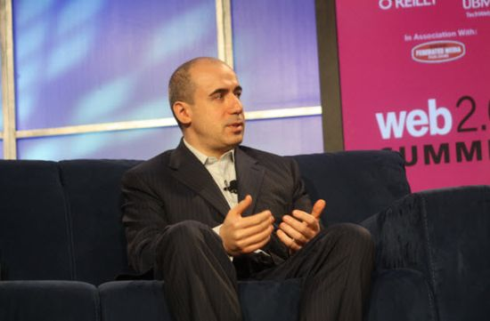 Yuri Milner, the Russian billionaire and founder of Digital Sky Technologies