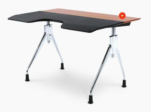 Envelop Desk surface slants slightly 1