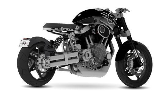 Confederate Motorcycles X132 Hellcat 2