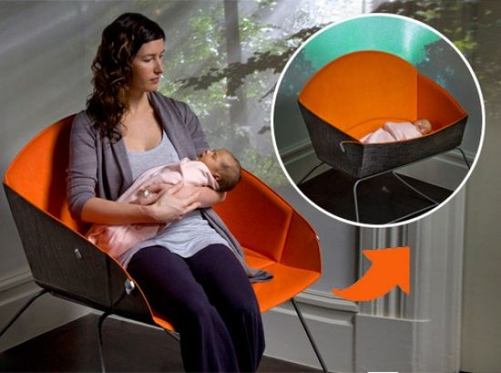 Koo Modern-chair-for-Mother-and-Baby 2